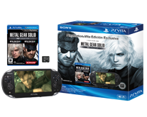 Edición Limitada PS Vita con Metal Gear Solid HD Collection