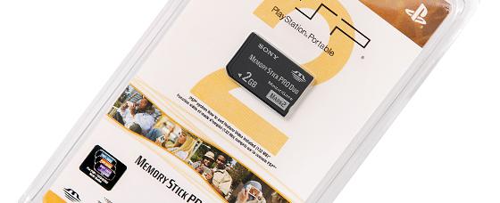 Memory Stick Duo™ de 2GB