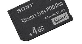Memory Stick Pro Duo™ de 4GB