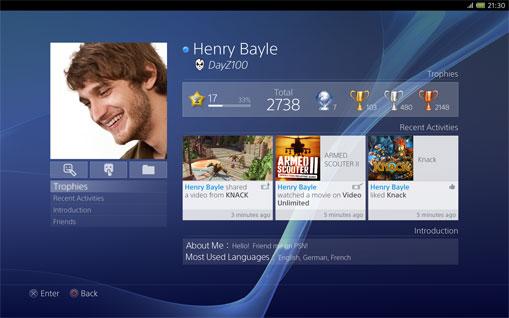 PS4™ Características