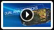 Joysticks analógicos duales